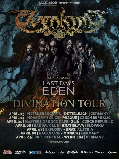 Plakát Elvenking & Last Days of Eden