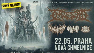 Plakát Ingested, Vulvodynia, Vale of Pnath, Bound In Fear - Praha