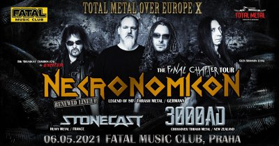 Plakát Necronomicon & Friends - Total Metal Overkilling Fest