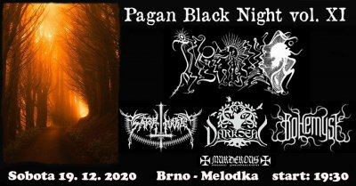 Plakát Pagan Black Night vol. 11