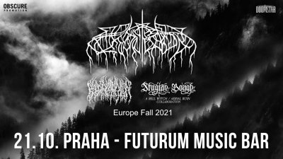 Plakát WOLVES IN THE THRONE ROOM / BLOOD INCANTATION / STYGIAN BOUGH - Praha